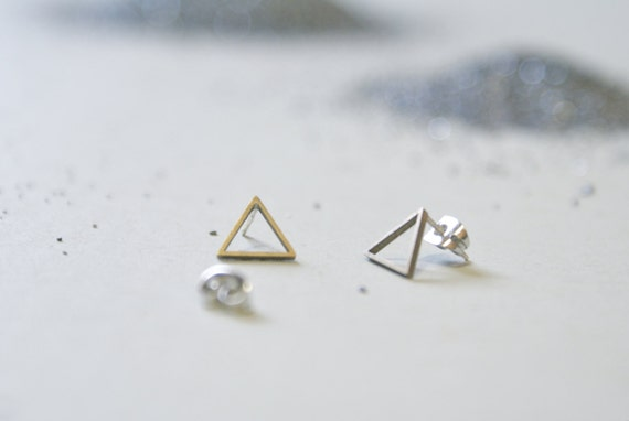 the Hollow Triangle stud