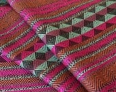 Aztec Fabric, Peruvian Fabric, Woven, Chava Berry, 2 Yards
