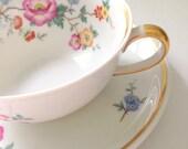 Vintage Johann Haviland Bavaria Tea Cup and Saucer Tea Party Cottage Style Bridesmaid Gift Inspiration