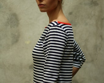 Nautical striped summerdress