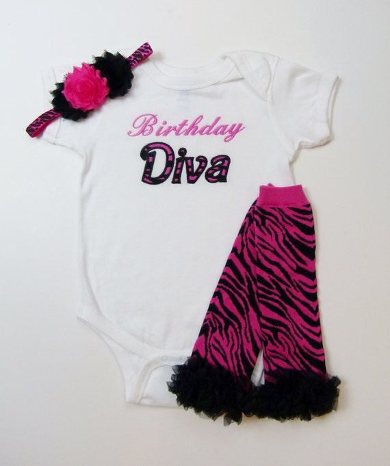 Items Similar To 1st Birthday Girl Zebra Pink Birthday