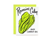 Romaine Calm Card