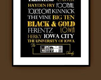Iowa Hawkeyes Print or Canvas
