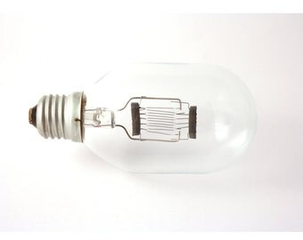Original Russian light bulb 500w, antique light bulb