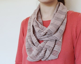 Crochet Pattern - Stripe Scarf - Instant Download