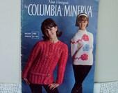 1960s Knitting Magazine New Horizons by Columbia Minerva vintage knitting patterns