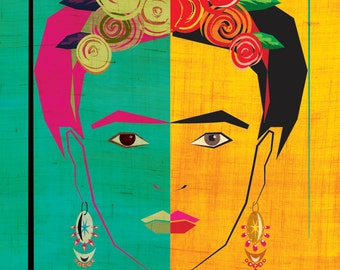 Frida Inspired  Art Print