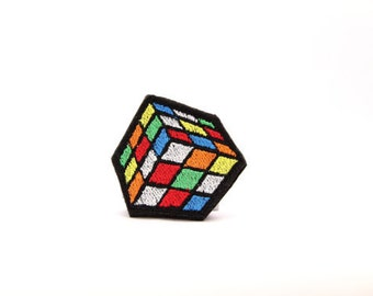 Rubiks Cube Design for Embroidery Machine,  Multiple Formats Available. Vintage Toy