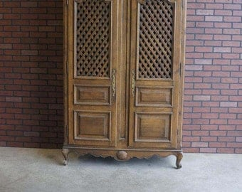 Armoire /  Antique Armoire / French Style Armoire / Wardrobe ~ Paint to Order