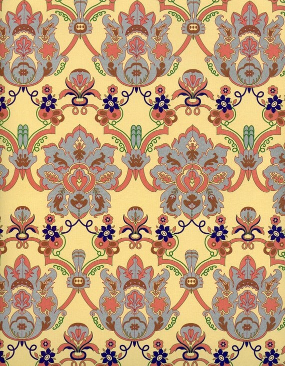 Baroque decorative paper wrapping baroquegift
