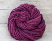 Titan - Hand Dyed Thick & Thin Merino Wool Bulky Chunky Yarn - Colorway: Jelly Bean