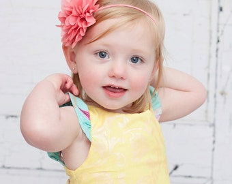 Pick any color, baby headband, large flower headband, baby girl headbands, infant, newborn headband, baby girl hair bow, baby accessories