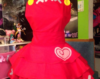 Reese Inspired Animal Crossing Cosplay Dress/Apron