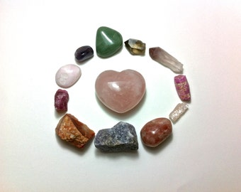 how to make a crystal grid for love