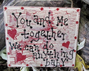 Dave Matthews You and Me Lyrics Wall Hanging, DMB Art, DMB Lyrics, Dave Matthews Band
