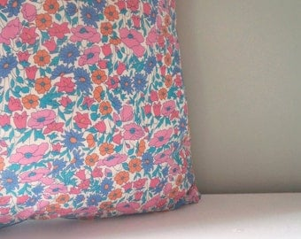 Liberty London vintage style Cushion / Pillow cover