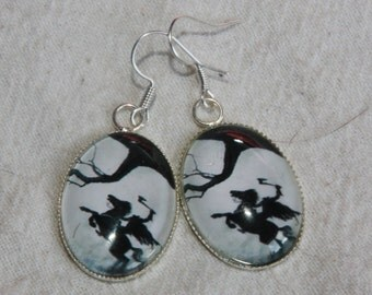 Headless Horseman earrings
