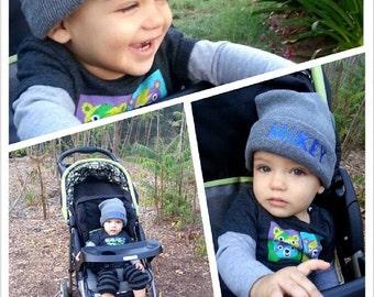Kids Baby Personalized Beanie Custom Knit Hat