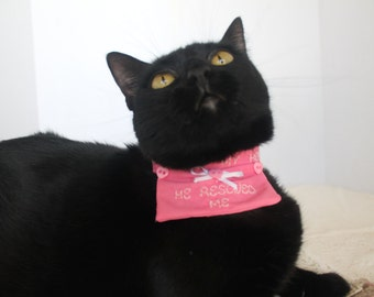 Gift for Cat Dad - Cat Collar Accessory