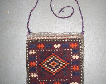 1970s Handmade Balouch Persian Saddlebag (2971)