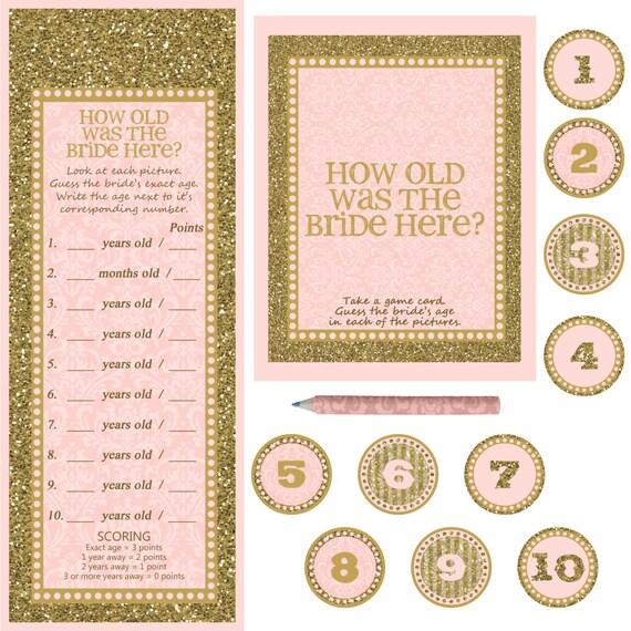 Instant Download Bridal Shower Bachelorette By