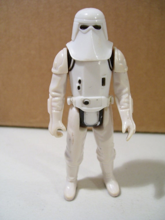 Star Wars Toys 1980s : Vintage star wars hoth imperial stormtrooper action