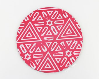 Mousepad / Tribal Print Mouse Pad / Office Accessories