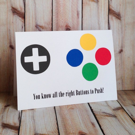 Printable Gamer Birthday Cards Boyfriend