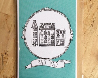 Rad Pad - moving card
