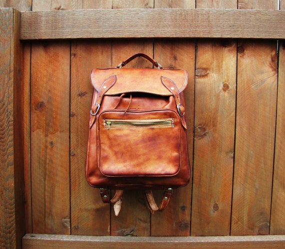 western leather backpack Backpack Tools