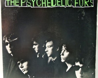 Psychedelic Furs Record - Self Titled- 80s New Wave Album - Vintage Vinyl LP