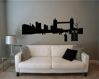 Popular Items For Dr Who Wall Decal On Etsy