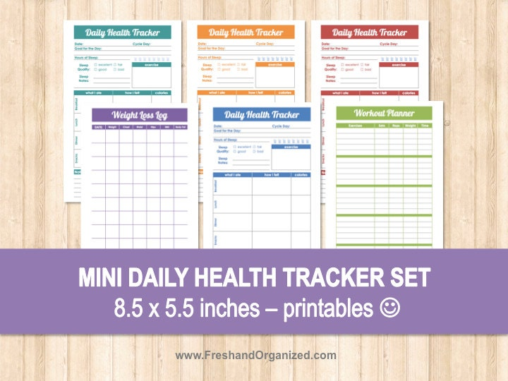 daily weight loss tracker
