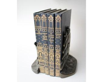 On sale: Gorgeous set of 1928 Owen Wister vintage books. Ulysses S. Grant. vintage book