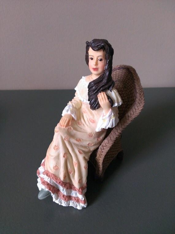 Items Similar To Vintage Miniature Dollhouse Victorian