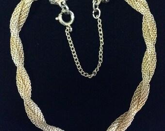 Vintage 1950's Goldette NY Goldtone Bracelet (Tier 2)