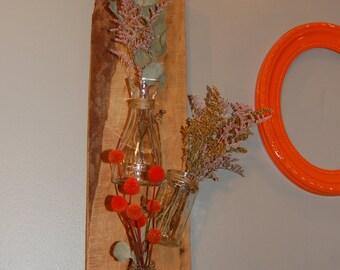 Hanging Cedar Plank Vase