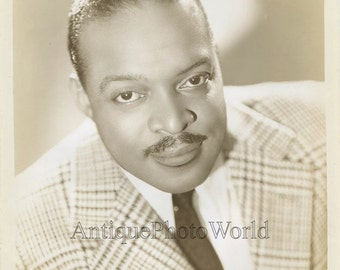 Count Basie jazz pianist organist bandleader antique music photo