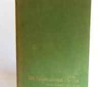 Vintage Book, 101 Inspirational Poems