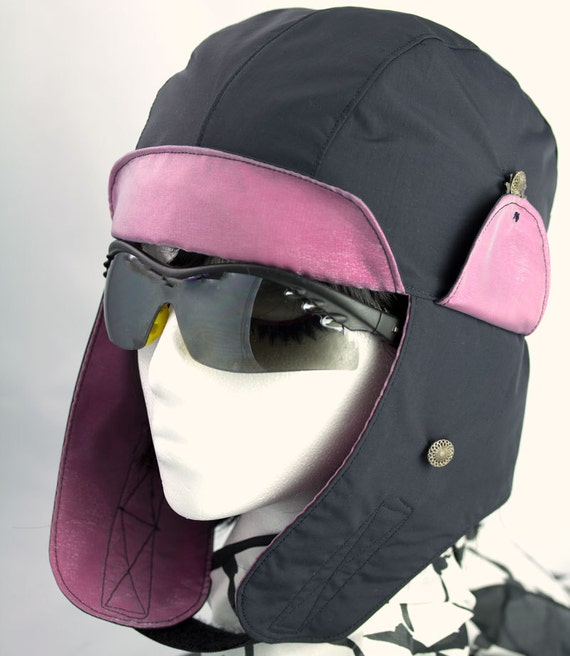 womens biker hat chic motorcycle helmet liner by cherrypathats