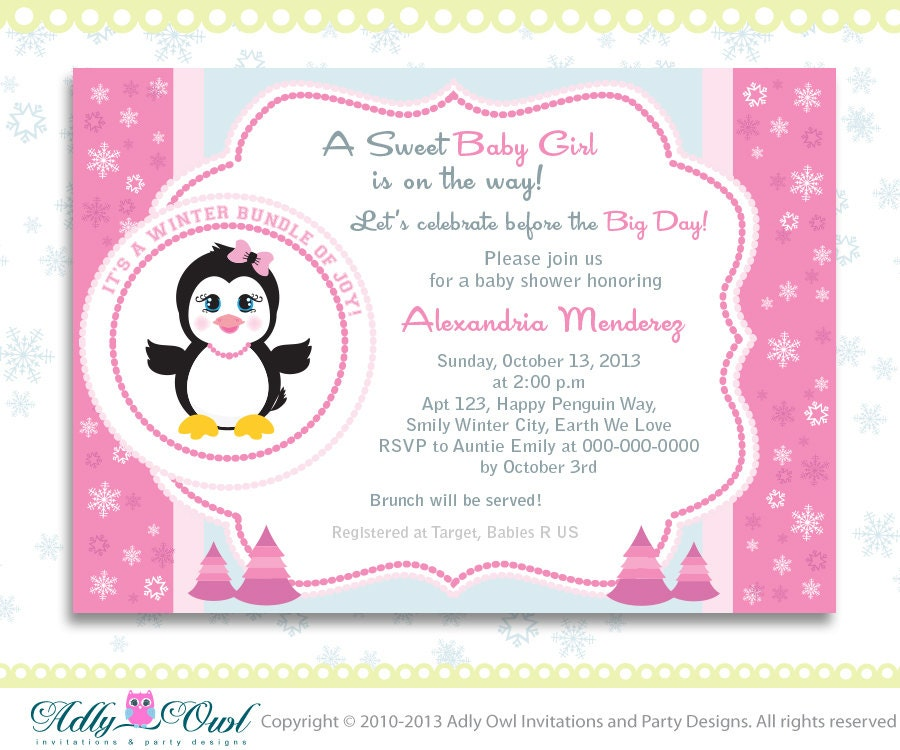 Etsy Baby Shower Invite for perfect invitations template
