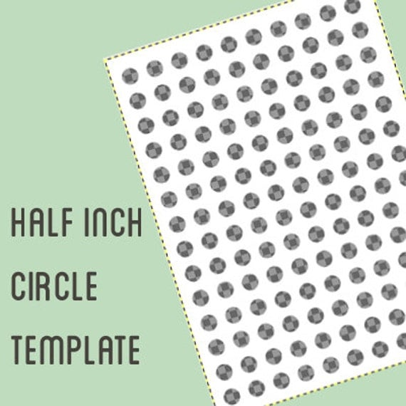 1 inch circle template free - digital collage template 1 2 inch circle half inch bottle