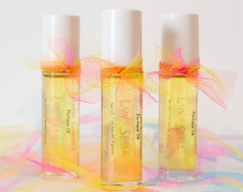 Love Spell Type Perfume Oil - Roll On Perfume Fragrance Vegan