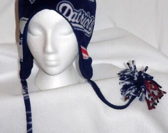 New England Patriots Polar Fleece Bomber Hat