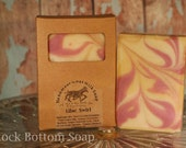 Lilac Cold Processed Handmade Goat Milk Soap 3 BARS FOR 15 DOLLARS