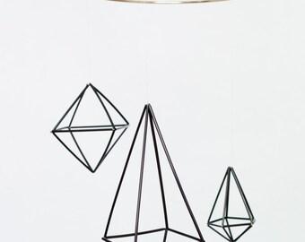 Geometric Mobile black