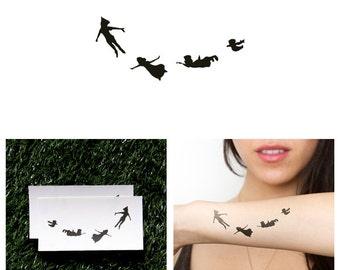 Second Star - Temporary Tattoo (Set of 2)