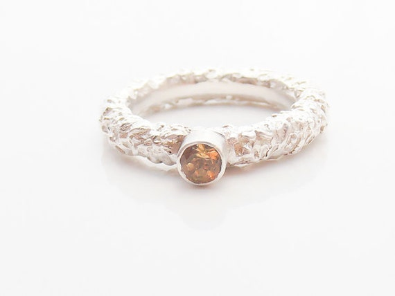citrine wedding band november birthstone ring citrine