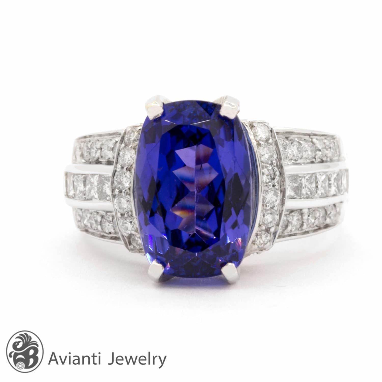 tanzanite ring tanzanite and enagagemnt ring
