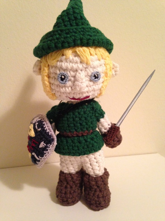 Link (The Legend of Zelda) amigurumi doll